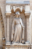 Joana D´arc Notre Dame Cathedral Paris Royalty Free Stock Photo