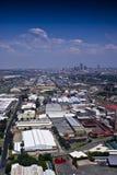 Joanesburgo do leste com o CBD no fundo fotos de stock royalty free