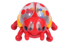 Joaninha do brinquedo Imagem de Stock