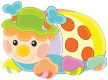 Joaninha engraçado do brinquedo Imagem de Stock Royalty Free