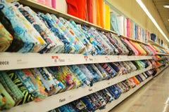 Joann Fabrics et compagnie de métiers de l'intérieur dans le magasin photos stock