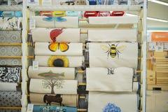 Joann Fabrics et compagnie de métiers de l'intérieur dans le magasin Photo stock