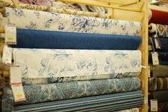 Joann Fabrics et compagnie de métiers de l'intérieur dans le magasin Photographie stock
