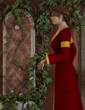 Joanna - Beautiful Medieval Lady of the Court - Image 2 Royalty Free Stock Images