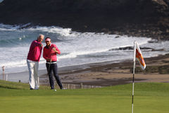Joanna Klatten (FRA) Dinard golf cup 2011 Stock Images