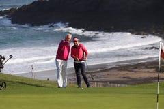 Joanna Klatten (FRA) Dinard golf cup 2011 Stock Image