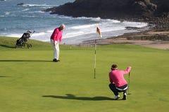 Joanna Klatten (FRA) Dinard golf cup 2011 Royalty Free Stock Image