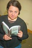 Joanna Napiorkoswka czytelnicza poezja obrazy royalty free