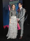 Joanna Newsom & Andy Samberg Fotografia Stock