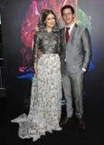 Joanna Newsom & Andy Samberg Stock Images