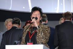 Joanna Senyszyn Member of the European Parliament Royalty Free Stock Photo