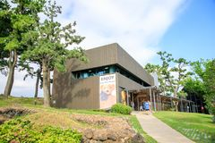 Joanne Bear Museum, one of the most popular tourist spots on oct. 5, 2017 in Jeju Island, South Korea Stock Image