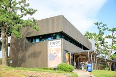 Joanne Bear Museum, one of the most popular tourist spots on oct. 5, 2017 in Jeju Island, South Korea Royalty Free Stock Photos