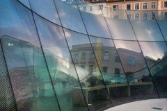 Joanneum Ogólnoludzki muzeum w Graz obraz stock