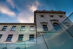 The Joanneum Universal Museum in Graz royalty free stock images