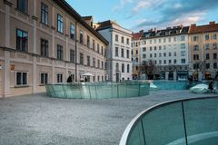 The Joanneum Universal Museum in Graz stock photo