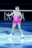 Joannie Rochette à la récompense d'or du patin 2011 Image libre de droits