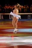 Joannie Rochette en la concesión de oro del patín 2011 Imagenes de archivo
