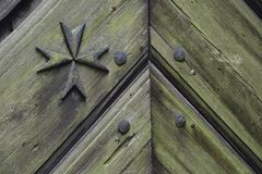 Joannites - croix maltaise Images libres de droits