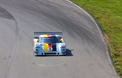 Joao Barbosa races the Porsche DP Stock Images