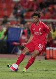 Joao Carlos Teixeira of Liverpool Stock Images