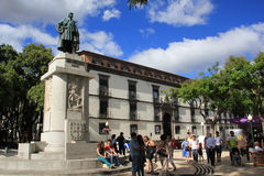 Joao Goncalves Zarco statue in Funchal, Madeira Stock Images