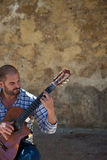 Joao Manuel Bastos Guitarist Royalty Free Stock Image