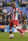 Joao Miranda of Atletico Madrid Stock Photo