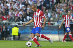 Joao Miranda Final Champion League 2014 Stock Images