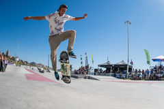 Joao Neto during the DC Skate Challenge Stock Photography