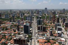 Joao pessoa, Stadt in Brasilien Lizenzfreie Stockbilder