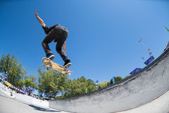 Joao Santos during the DC Skate Challenge Stock Photo