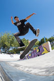Joao Santos during the DC Skate Challenge Royalty Free Stock Photos