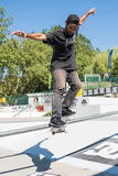Joao Santos during the DC Skate Challenge Royalty Free Stock Photography