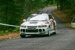 Joaquim Gaspar dans Rallye Centro de Portugal Photos libres de droits