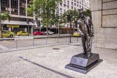 Joaquim Nabuco statue - Rio de Janeiro Royalty Free Stock Photo
