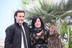 Joaquin Phoenix, Lynne Ramsay lizenzfreie stockfotografie