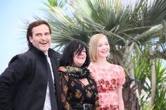 Joaquin Phoenix, Lynne Ramsay, Ekaterina Samsonov stockfoto