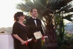 Joaquin Phoenix, Lynne Ramsey lizenzfreies stockbild