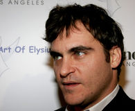 Joaquin Phoenix. November 30, 2005 - West Hollywood - Joaquin Phoenix at The Art of Elysium Presents Russel Young `fame, shame and the realm of possibility` Stock Images