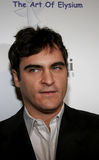 Joaquin Phoenix. WEST HOLLYWOOD, CALIFORNIA. November 30, 2005. Joaquin Phoenix attends the Art of Elysium Presents Russel Young `fame, shame and the realm of Stock Photo