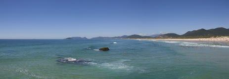 Joaquina beach day Royalty Free Stock Photography