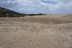 Joaquina dunes - Florianópolis/SC - Brazil Stock Image