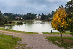 Joaquina Riter湖Gramado巴西 免版税库存照片