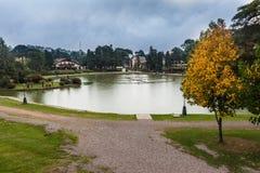 Joaquina Riter Lake Gramado Brazil Royaltyfria Foton