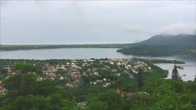 Joaquina strand i Florianopolis, Brasilien arkivfilmer