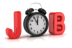 Job Lizenzfreies Stockbild