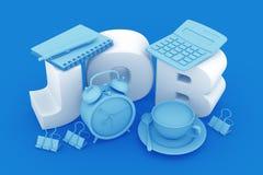 Job Of Accountant Or Office-Arbeitskraft Stockbilder