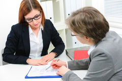 Free Job Applicant Having An Interview Royalty Free Stock Image - 37156426