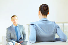 Business interview Royalty Free Stock Images